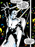 Marvel Comics Retro: Silver Surfer Comic Panel Prints