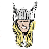 Marvel Comics Retro: The Mighty Thor (aged) Wall Decal