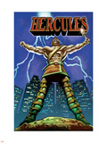 Hercules No.1 Cover: Hercules Plastic Sign by Mark Texeira