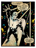 Marvel Comics Retro: Silver Surfer Comic Panel (aged) Poster