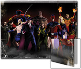 The Twelve No.1 Cover: Captain Wonder Posters by Kaare Andrews