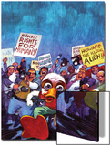 Howard The Duck No.4 Cover: Howard The Duck Poster by Juan Bobillo