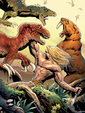 Marvel Comics Presents No.5 Cover: Ka-Zar Plastic Sign by Greg Land