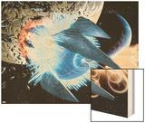 Secret Invasion: War Of Kings 1: Black Bolt and Medusa Wood Print by Paul Pelletier