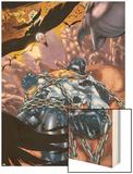 Captain Marvel No.22 Cover: Captain Marvel Wood Print by Chris Cross