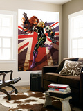Revolutionary War: Dark Angel 1 Cover: Dark Angel Wall Mural by Mark Brooks