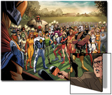 Fear Itself: Youth in Revolt No.1: Gravity, Firestar, Komodo, Hardball, Thor Girl, and Ultragirl Prints by Mike Norton