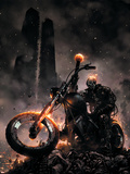 Ghost Rider No.6 Cover: Ghost Rider Plastic Sign by Clayton Crain