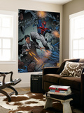 Revolutionary War: Alpha 1 Cover: Captain Britain, Wisdom, Pete Wall Mural by Richard Elson