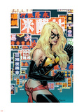 Ms. Marvel No.36 Cover: Ms. Marvel Plastic Sign by Phil Jimenez
