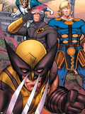 Eternals No.7 Group: Ikaris, Wolverine and Cyclops Plastic Sign by Eric Nguyen