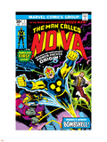 Nova: Origin Of Richard Rider - The Man Called Nova No.1 Cover: Nova Plastic Sign by John Buscema