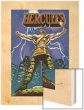 Hercules No.1 Cover: Hercules Wood Print by Mark Texeira