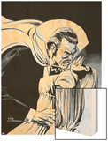 Stokers Dracula No.3 Cover: Dracula Wood Print by Dick Giordano