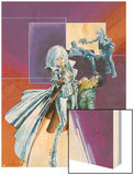 Sable & Fortune No.2 Cover: Silver Sable Wood Print by John Burns