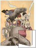 Omega: The Unknown No.4 Cover: Omega Wood Print by Farel Dalrymple
