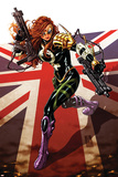 Revolutionary War: Dark Angel 1 Cover: Dark Angel Plastic Sign by Mark Brooks