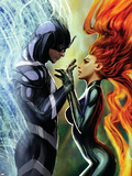 Realm of Kings Inhumans No.3 Cover: Medusa and Black Bolt Wall Decal by Stjepan Sejic