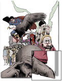 Omega: The Unknown No.4 Cover: Omega Posters by Farel Dalrymple