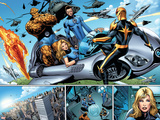 Nova No.21 Group: Nova, Mr. Fantastic, Invisible Woman, Thing and Human Torch Wall Decal by Wellinton Alves