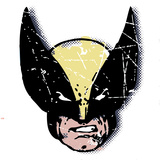 Marvel Comics Retro: Wolverine (aged) Wall Decal