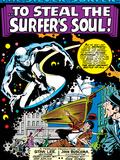 Marvel Comics Retro: Silver Surfer Comic Panel Prints
