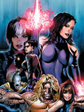 New Exiles No.1 Cover: Psylocke Fighting Wall Decal by Greg Land