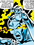 Marvel Comics Retro: Silver Surfer Comic Panel, Unleashing Power Posters