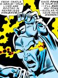 Marvel Comics Retro: Silver Surfer Comic Panel, Unleashing Power Art
