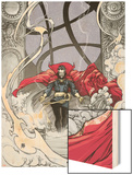 Doctor Strange: From the Marvel Vault No.1 Cover: Dr. Strange Wood Print by Mario Alberti