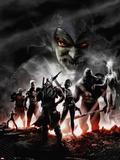Thunderbolts No.128 Cover: Green Goblin Wall Decal by Francesco Mattina
