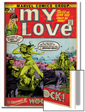 Marvel Comics Retro: My Love Comic Book Cover No.14, Woodstock (aged) Print