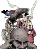 Omega: The Unknown No.4 Cover: Omega Plastic Sign by Farel Dalrymple