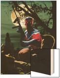 The Twelve No.2 Cover: Captain Wonder Wood Print by Chris Weston