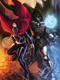 Doctor Voodoo: Avenger of the Supernatural No.5 Cover: Doctor Voodoo and Dr. Doom Posters