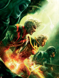 Annihilation: Conquest No.4 Cover: Quasar, Adam Warlock and Star-Lord Plastic Sign