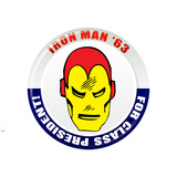 Marvel Comics Retro: The Invincible Iron Man '63 for Class President (aged) Wall Decal