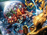 Nova Annual No.1 Group: Thor, Vision, Iron Man, Captain America and Dr. Doom Wall Decal by Wellinton Alves
