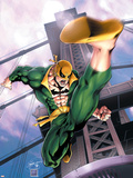 Iron Fist No.2 Cover: Iron Fist Plastic Sign by Kevin Lau