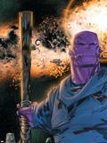 Thanos No.8 Cover: Thanos Plastic Sign by Keith Giffen