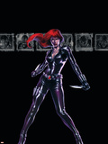 Secret War No.4 Cover: Black Widow Plastic Sign