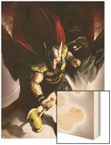 Secret Invasion Aftermath: Beta Ray Bill - The Green Of Eden No.1 Cover: Beta-Ray Bill Wood Print