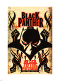 Black Panther Annual 1 Cover: Black Panther Plastic Sign by Juan Doe