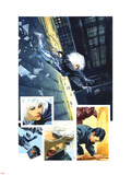 Sable & Fortune No.3 Cover: Silver Sable, Fortune and Dominic Wall Decal by John Burns