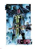 Fear Itself No.1: Panels with Red Skull Wall Decal by Stuart Immonen
