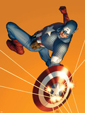The Marvels Project No.6 Cover: Captain America Znaki plastikowe autor Steve Epting
