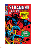 Strange Tales No.146 Cover: Dr. Strange and Eternity Plastic Sign by Steve Ditko