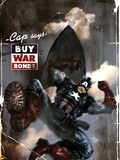 Marvel Comics Presents 6 Cover: Captain America Wall Decal by Dave Wilkins