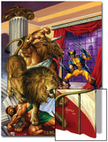 Wolverine/Hercules: Myths, Monsters & Mutants No.2 Cover: Wolverine and Hercules Fighting Posters by Joe Jusko