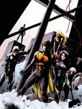The Order No.10 Cover: Anthem, Veda, Calamity and Aralune Wall Decal by Barry Kitson